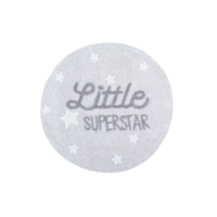 Ковер с надписью Little Superstar 120D, Lorena Canals