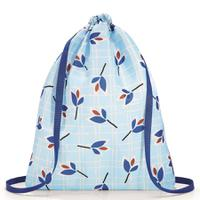 Рюкзак складной Mini maxi sacpack leaves blue, Reisenthel